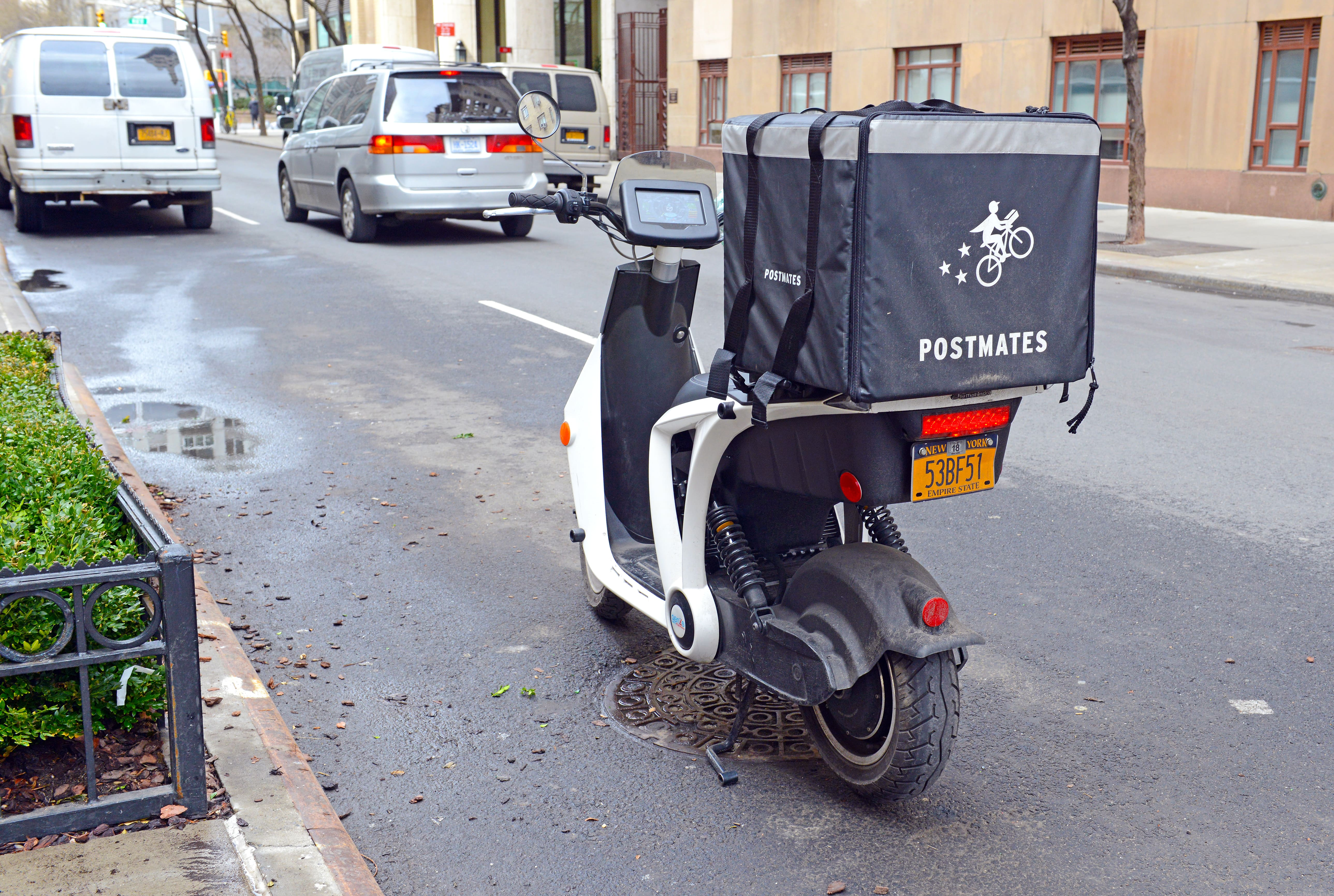 postmates scooter